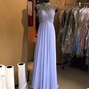 Alyce Paris Prom 0 Periwinkle Dress